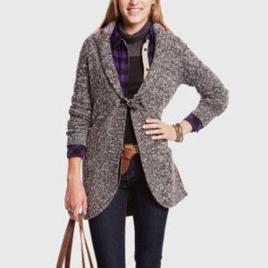 Roots Canada Women's lambswool long cardigan